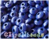 17a - Discbead Marine Blue 14 x 6mm.
